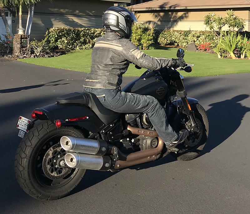 agv sport motorcycle jacket review palomar back riding harley fat bob