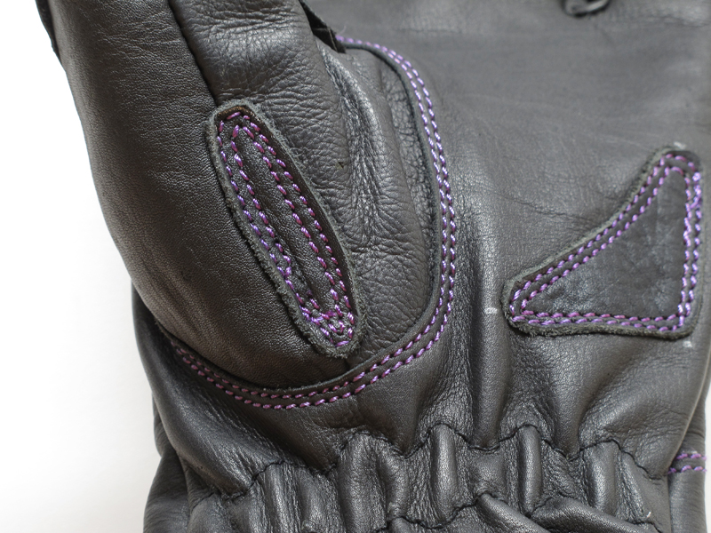 review comfortable functional inexpensive womens motorcycle gloves stitching