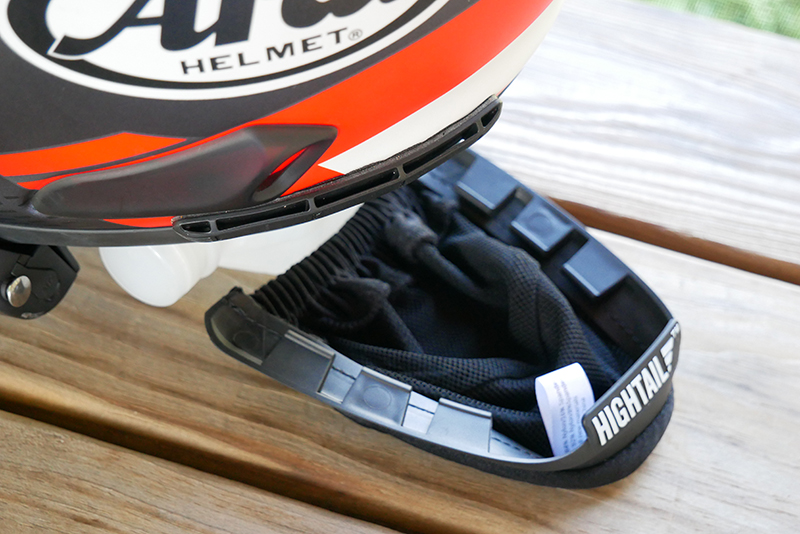 hightail bike hair protector eliminates tangles wind damage tabs