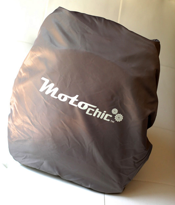 review the lauren bag by motochic rain fly on