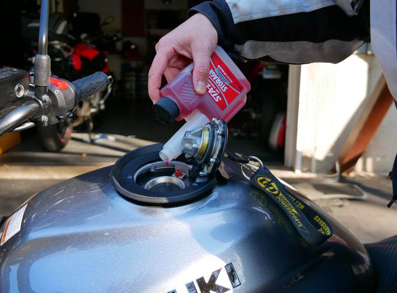 8 steps to prep your motorcycle for winter storage sta-bill sv650