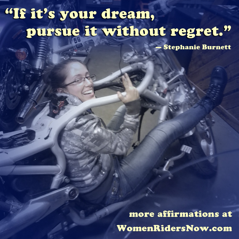 Turning Passion for Motorcycling into a Career quote