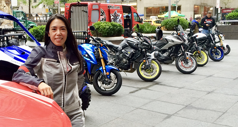womens motorcycle conference online connections andria yu