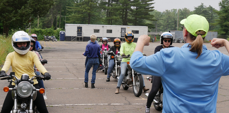 Confidence Corner Stretching Beyond Your Motorcycling Comfort Zone BRC