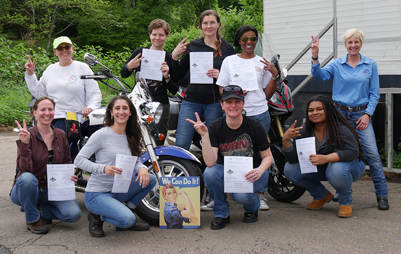 beginners guide msf basic ridercourse womens class we can do it