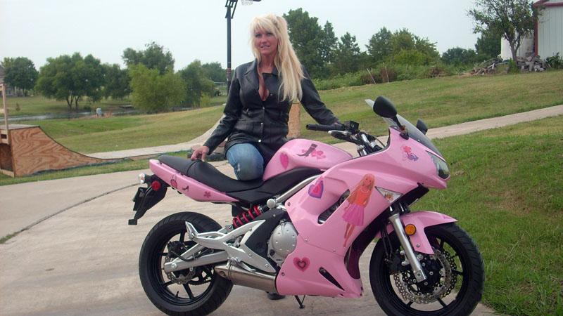 Pink Motorcycles Barbie