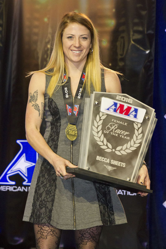 women honored at ama awards ceremony becca sheets