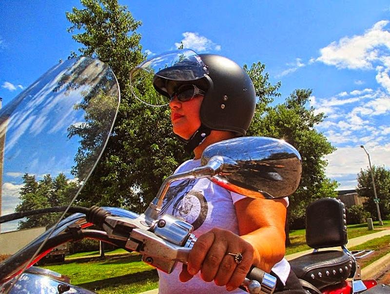 review bell custom 500 helmet flip visor