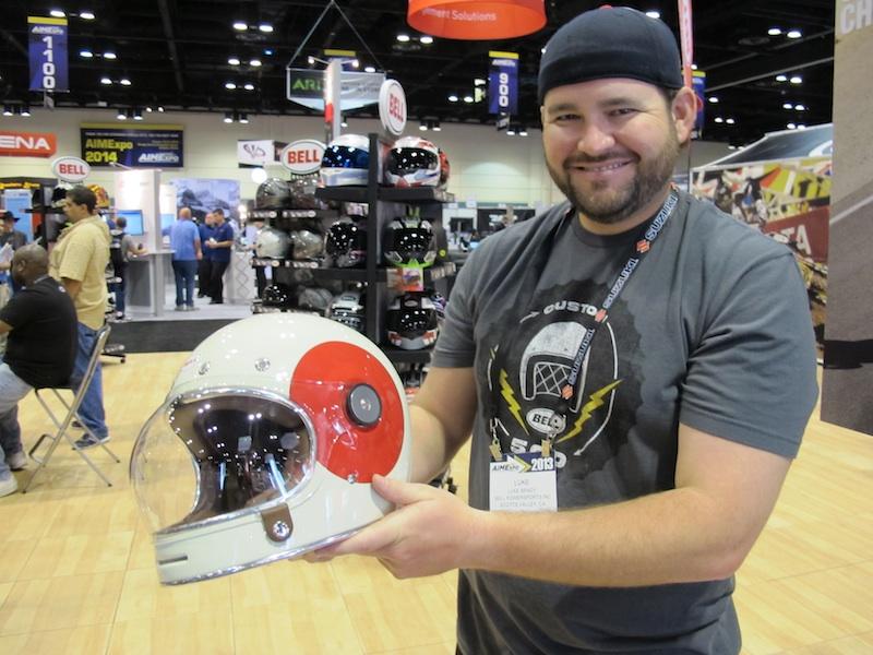 American International Motorcycle Expo (AIMExpo) 2013 Bell Helmets