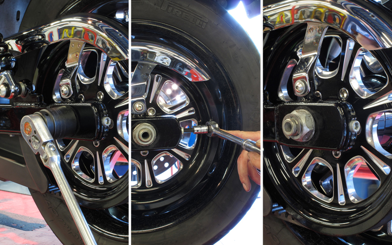 Do It Yourself Final Drive Maintenance Belt Adjusting