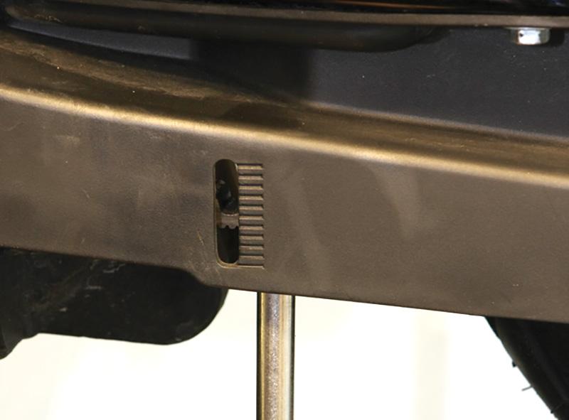 Do It Yourself Final Drive Maintenance Belt Tensioning