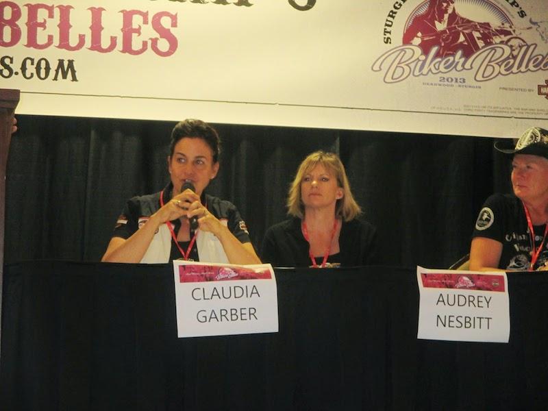 Event Coverage Biker Belles Ride at Sturgis 2014 Claudia Garber