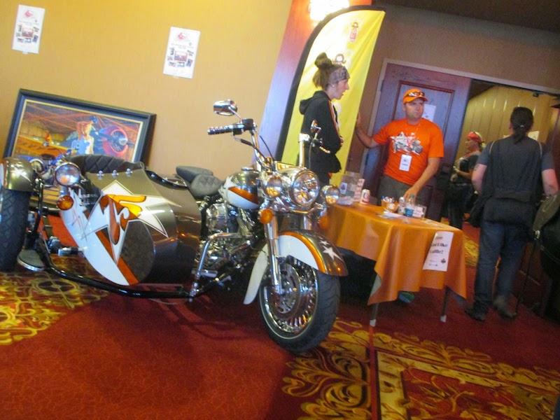 Event Coverage Biker Belles Ride at Sturgis 2014 motorcycle raffle