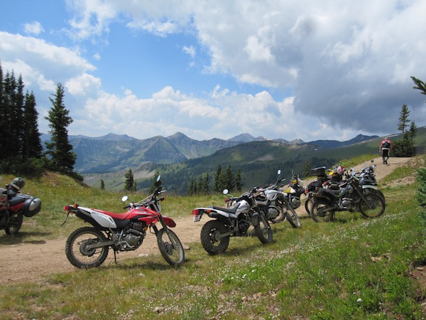A Ride to Change Your Life Paradise Divide dual sport