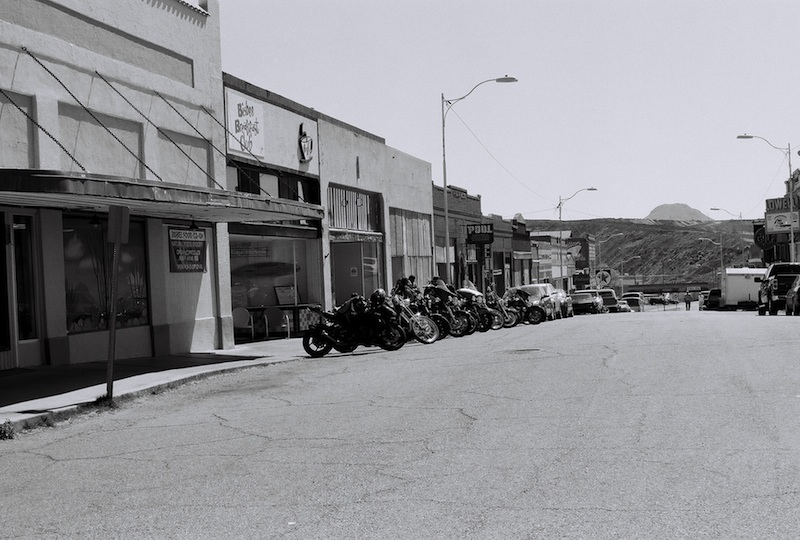 Review Shady Dell Bisbee Arizona Erie Street black and white