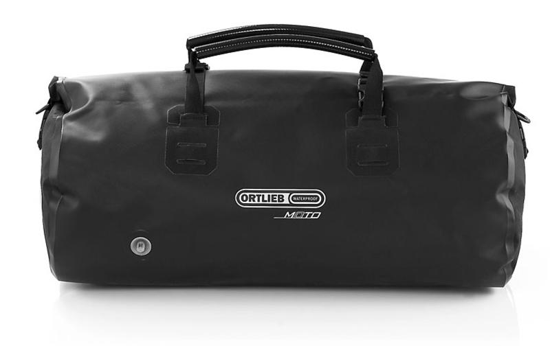 review waterproof duffle bag for motorcycle travel black moto rack pack