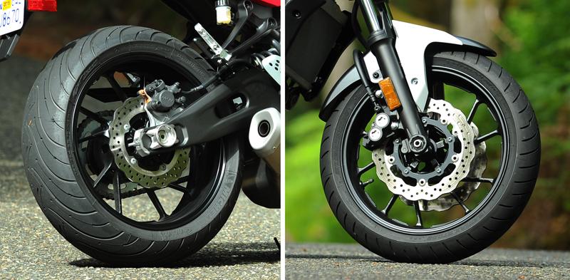 motorcycle review 2015 2016 yamaha fz-07 wheels