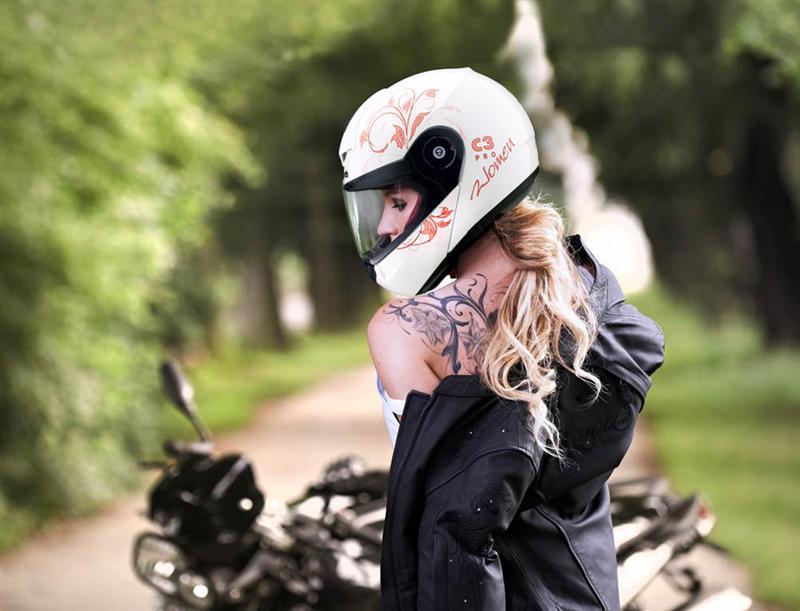 Review Schuberth C3 Pro Women Helmet euphoria
