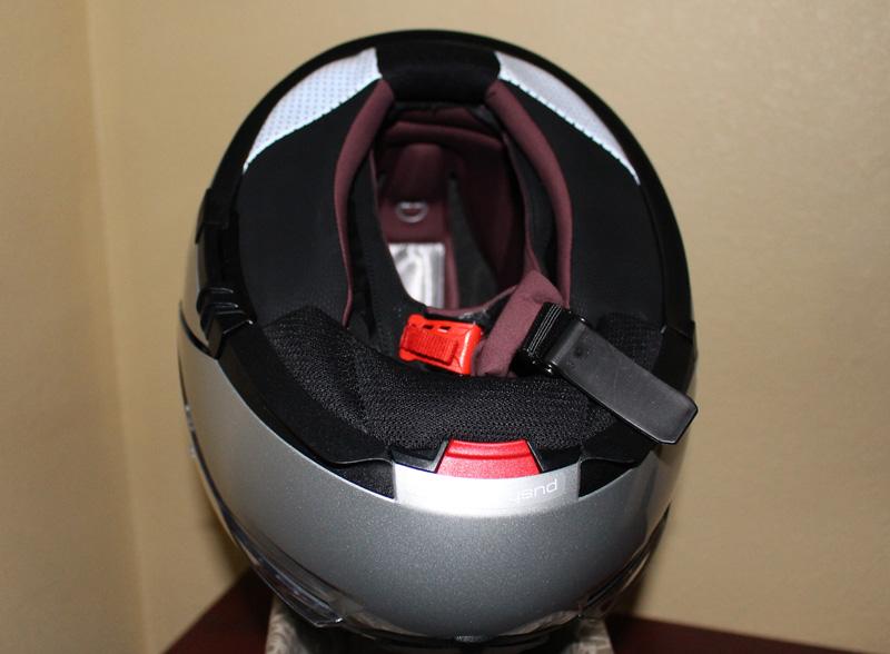 Review Schuberth C3 Pro Women Helmet interior