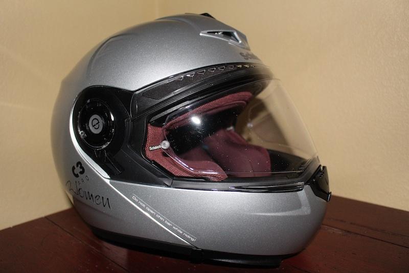 Review Schuberth C3 Pro Women Helmet Pinlock