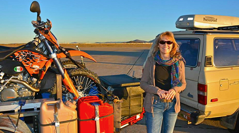 motorcycling safely in a pandemic carla king adventure rider ktm 450