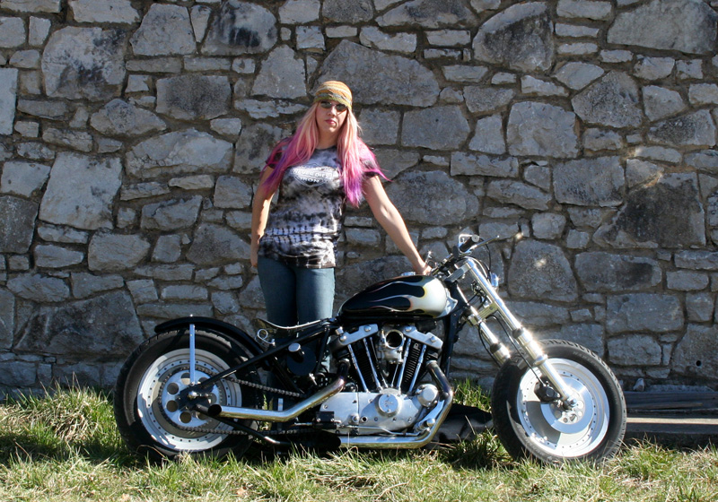 No Mans Getting in the Way of Her Love of Motorcycling