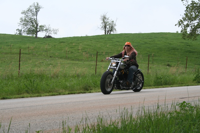 No Mans Getting in Way of Love of Motorcycling Harley-Davidson