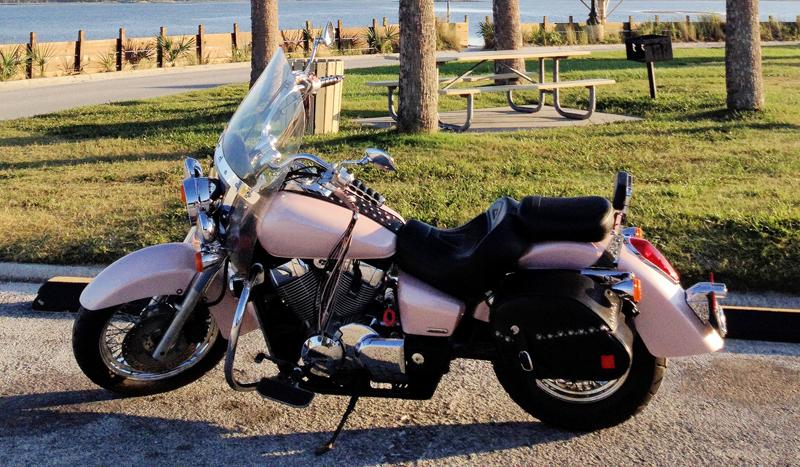 Pink Motorcycles shadow aero