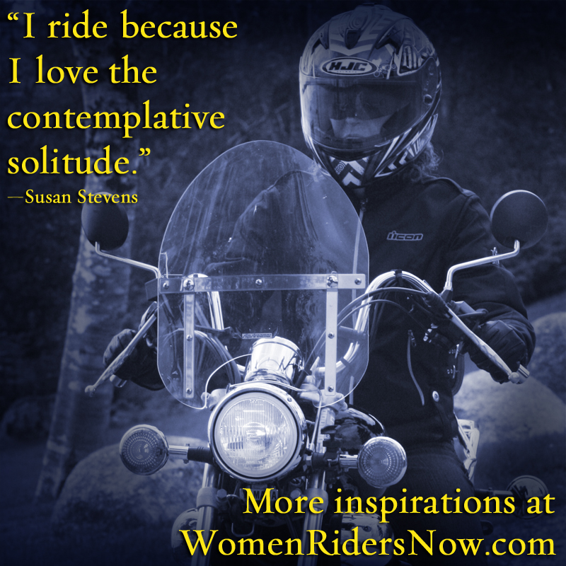 I Ride Because I Can