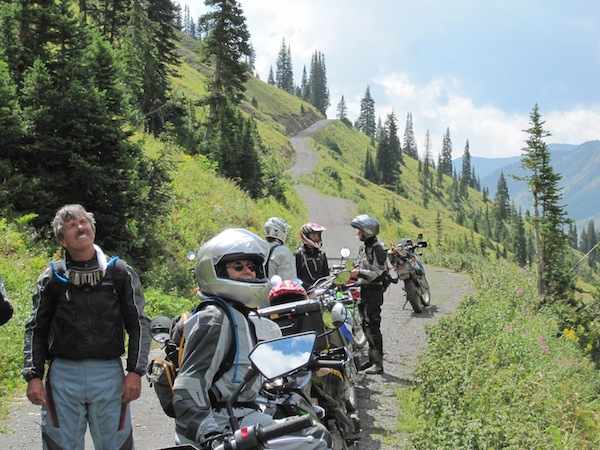 A Ride to Change Your Life dual sport riders