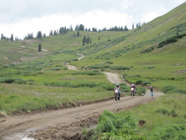 A Ride to Change Your Life dual sport trail
