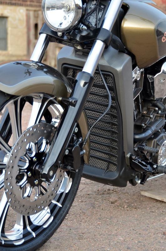 Custom Vent Screens for Harley Davidson Touring Models Indian Motorcycle Radiator Guard