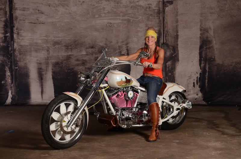 your motorcycles susan barnetts daisy bike saxon sceptre