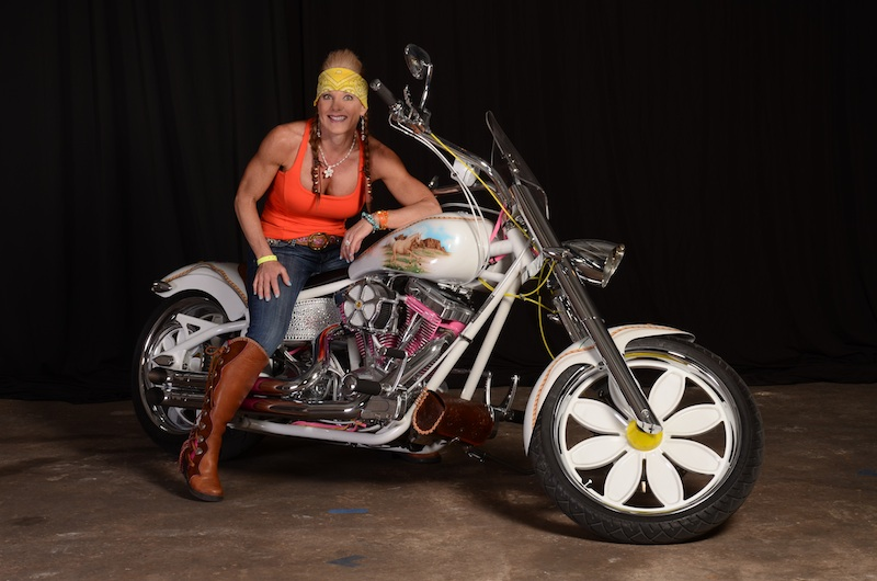 your motorcycles susan barnetts daisy bike