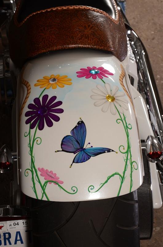your motorcycles susan barnetts daisy bike rear fender