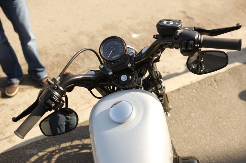 review harley davidson forty eight rider view