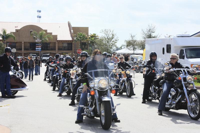 Daytona Bike Weeks Big Marketing Push to Attract Women HD Womens Ride
