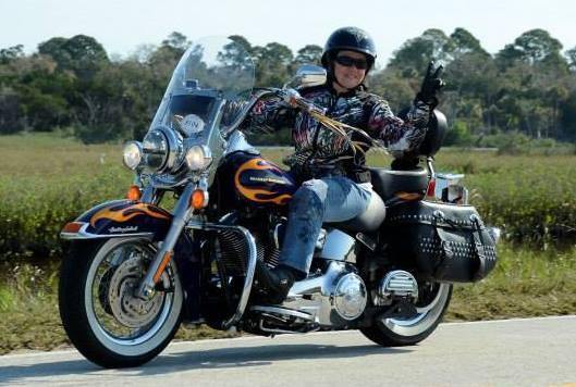 Events 2014 Harley Davidson MDA Womens Ride Deborah
