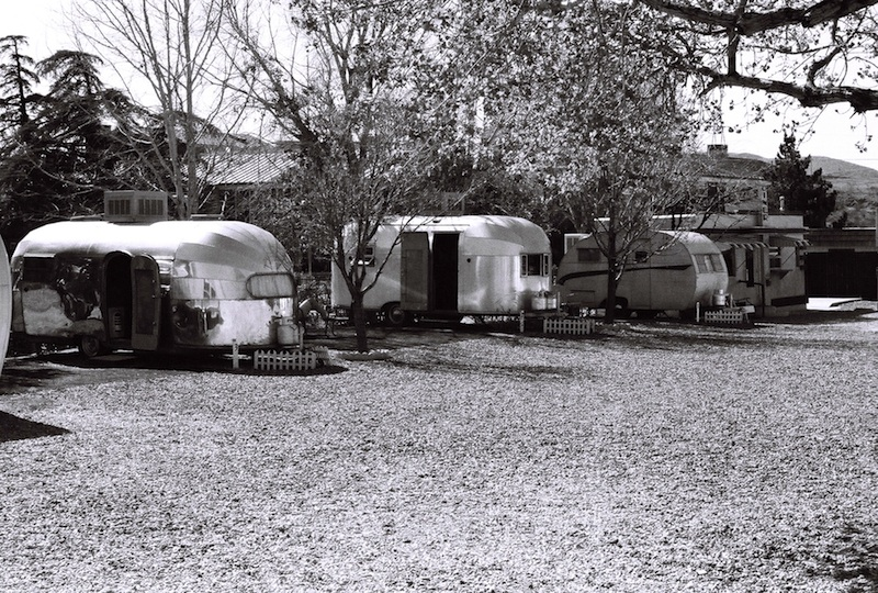 Review Shady Dell Bisbee Arizona trailers airstream el ray