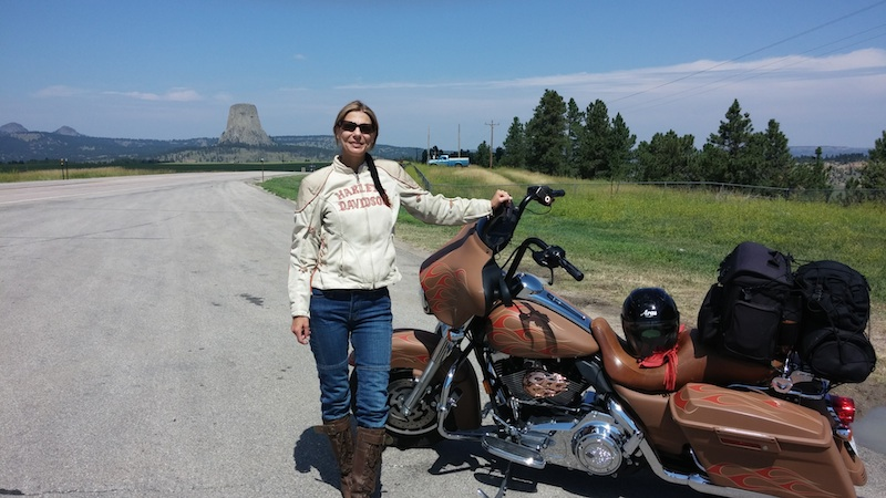 74th Annual Sturgis Motorcycle Rally Devil's Tower