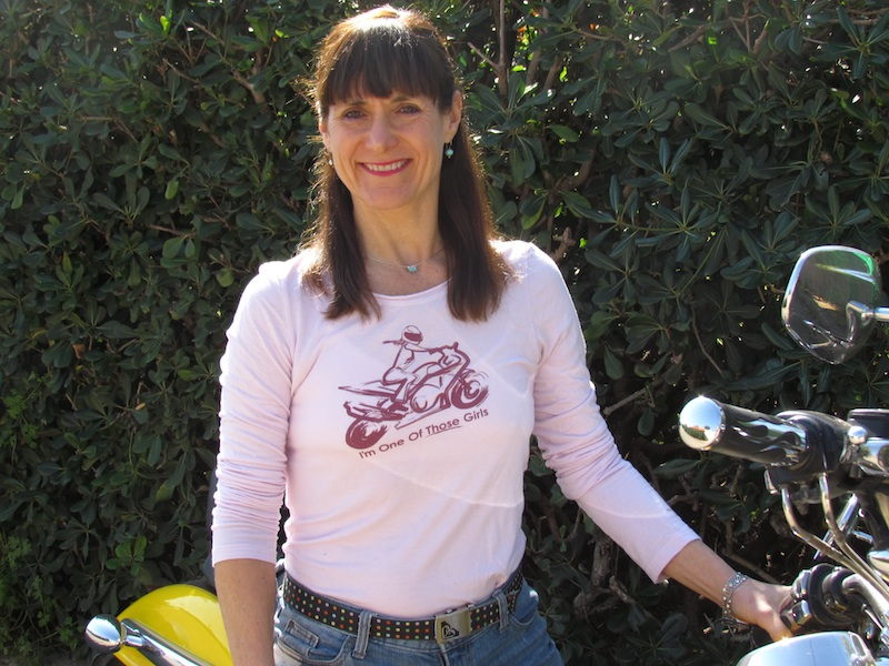 Reader story how one woman inspired another to ride Diana Bletter