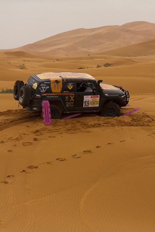 Two Moms Compete in Hardest Off-Road Race in the World Moroccan Desert