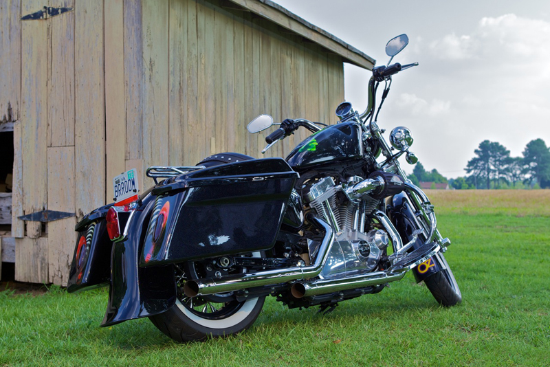 your motorcycles a wicked sportster harley