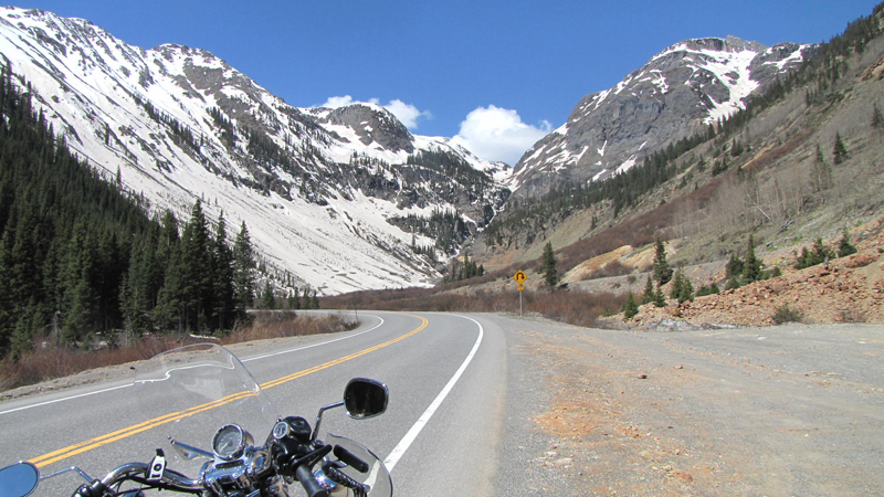 Solo Road Trip on a Motorcycle Alone But Never Lonely Colorado Pass