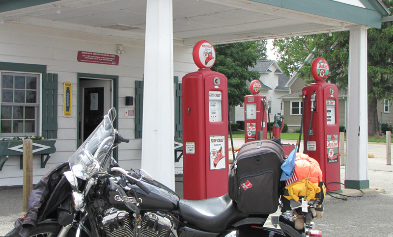 Solo Road Trip on a Motorcycle Alone But Never Lonely Amblers Texaco