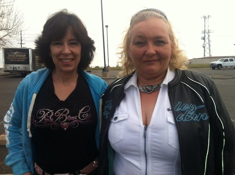 Events Steel Horse Sisterhood Summit two women Eldonna Lewis-Fernandez