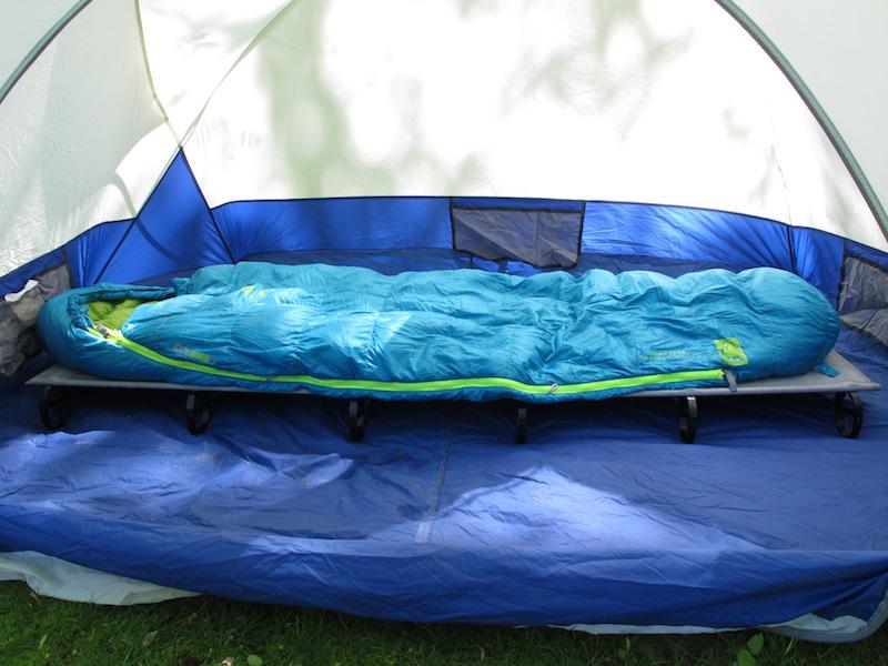 sierra designs sleeping bag review for motorcycle camping