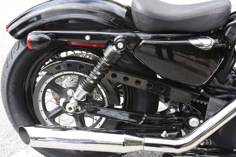review harley davidson forty eight clutch belt guard