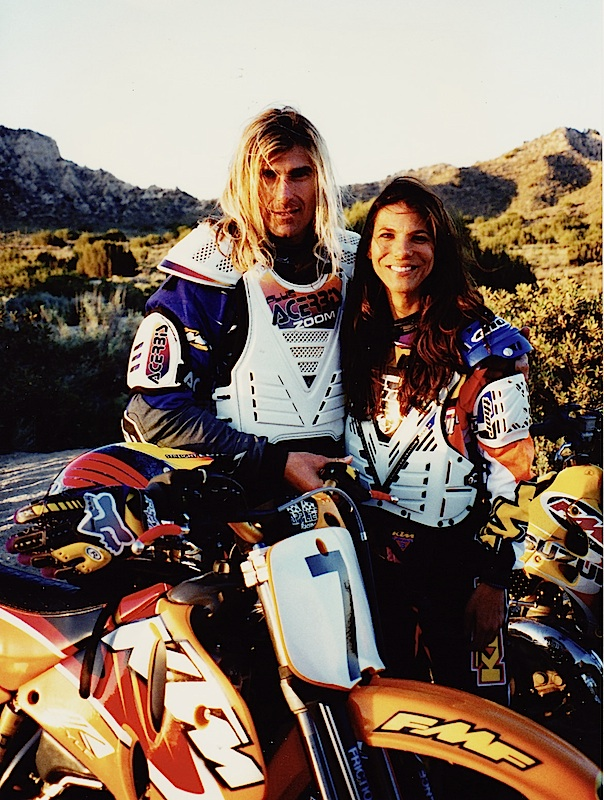 Hey! I don't have to dream of Fabio because I did get to ride motorcycles with him one time long ago!