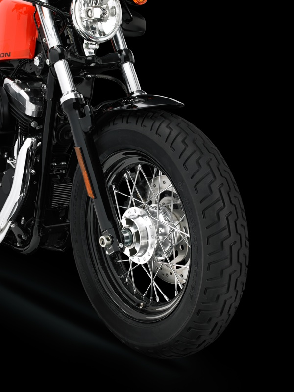 review harley davidson forty eight rear tire